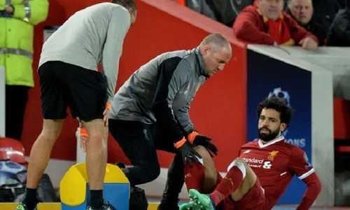 Mohamed Salah xuất hiện trong phòng điều trị đặc biệt