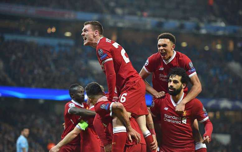 Guardiola chúc Liverpool lọt vào chung kết Champions League