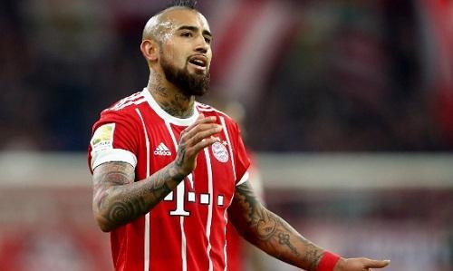 Vidal vắng mặt sẽ là mất mát không nhỏ với Bayern khi đấu Real.