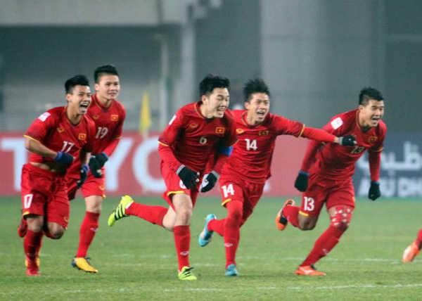 Quang Hải, Xuân Trường, Tiến Dũng nhận mức thưởng 1,8 tỷ đồng sau giải U23 châu Á