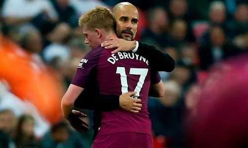 Kevin De Bruyne mong muốn Pep Guardiola ở lại Man City lâu dài