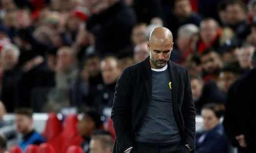 Pep Guardiola thừa nhận mắc sai lầm chiến thuật trước Liverpool