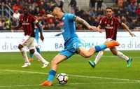 Hòa AC Milan, Napoli đang có nguy cơ bị Juventus nới rộng khoảng cách