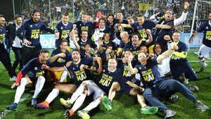 Ba năm thăng ba hạng, Parma giành quyền trở lại Serie A đầy ngoạn mục