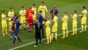 Villarreal thay Real Madrid, xếp hàng vinh danh Barcelona sau chức vô địch La Liga