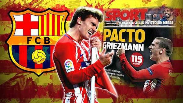 Chốt xong phí chuyển nhượng, Barca chính thức sở hữu Griezmann?