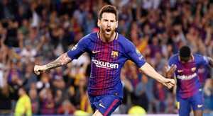 Messi lần thứ 5 đoạt Chiếc giày vàng châu Âu