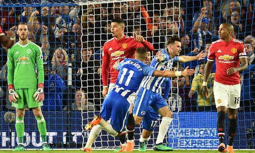 MU thất bại trước Brighton, thành đội thua nhiều nhất top 4