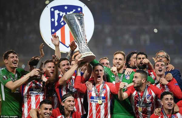 Vùi dập Marseille, Atletico vô địch Europa League