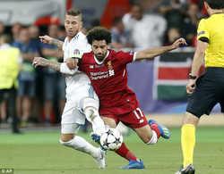 Sergio Ramos bị yêu cầu phải bồi thường 1 tỷ euro cho Salah