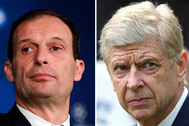 Arsenal săn HLV: Allegri sẽ vượt qua Enrique?