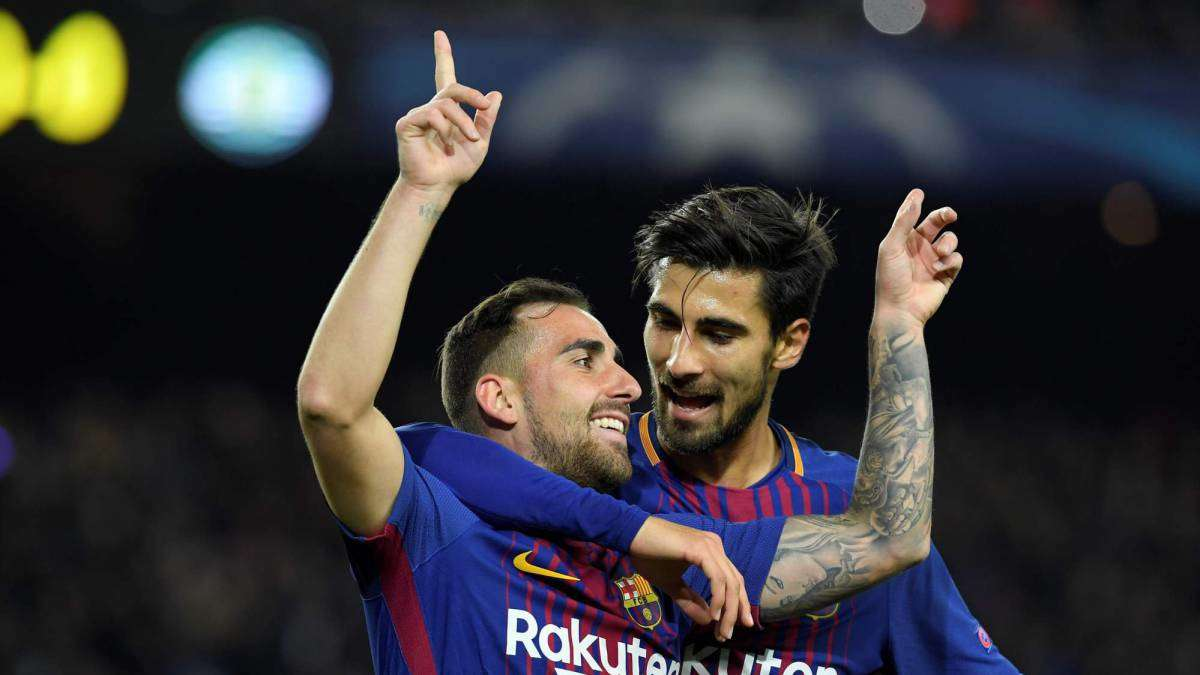 Barca muốn thu 60 triệu euro từ Paco và Andre Gomes