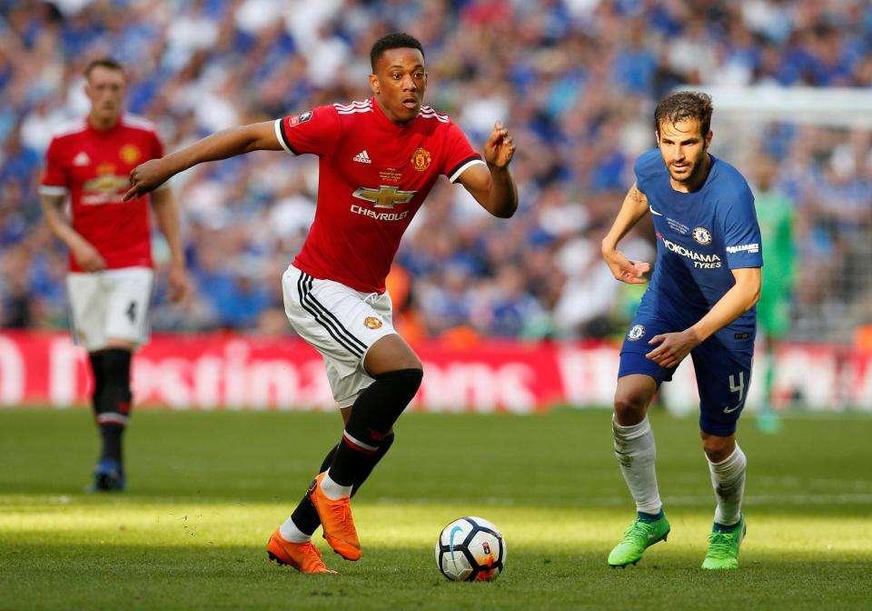 Martial có thể bị bán với giá 70 triệu bảng