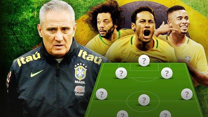 HLV Tite sớm chốt danh sách Brazil dự World Cup 2018