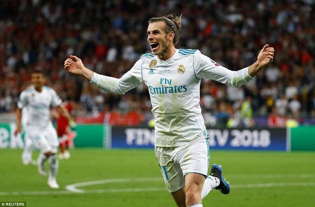 Gareth Bale sắm vai người hùng của Real Madrid