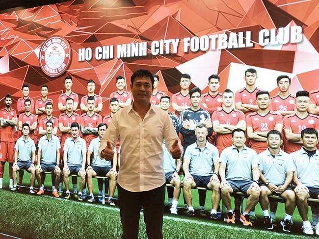 CLB TPHCM ra mắt tân Chủ tịch Hữu Thắng