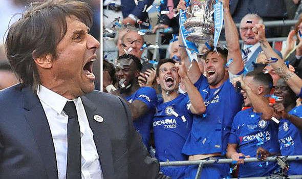 Conte và Chelsea khiến MU và Mourinho rơi cảnh trắng tay mùa giải 2017/18