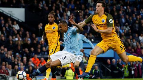 Danilo ghi bàn mở tỷ số