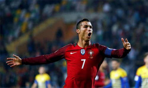 Ronaldo sẽ là đầu tàu của tuyển Bồ Đào Nha ở World Cup 2018