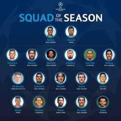 Đội hình tiêu biểu cup Champions League: Real áp đảo, Mane bị gạch tên