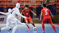 Tuyển futsal nữ Việt Nam dừng bước ở bán kết