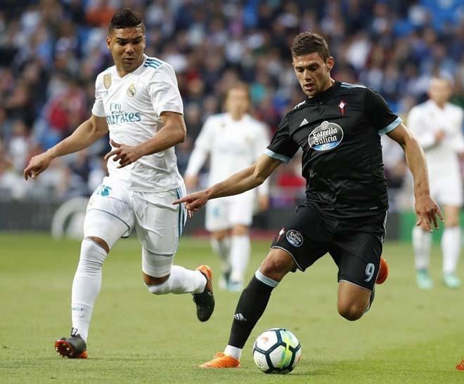 Real có một trận đấu nhàn nhã trước Celta Vigo
