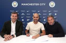 Guardiola gia hạn hợp đồng với Man City, hưởng lương cao nhất thế giới