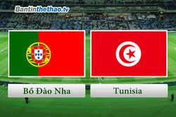 Link Sopcast, link xem trực tiếp live stream Bồ Đào Nha vs Tunisia đêm nay 29/5/2018 Giao hữu quốc tế