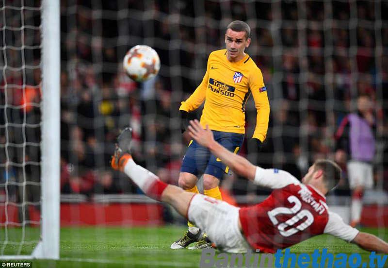 Arsenal vs Atletico Madrid đêm nay 4/5/2018 Bán kết lượt về Europa League