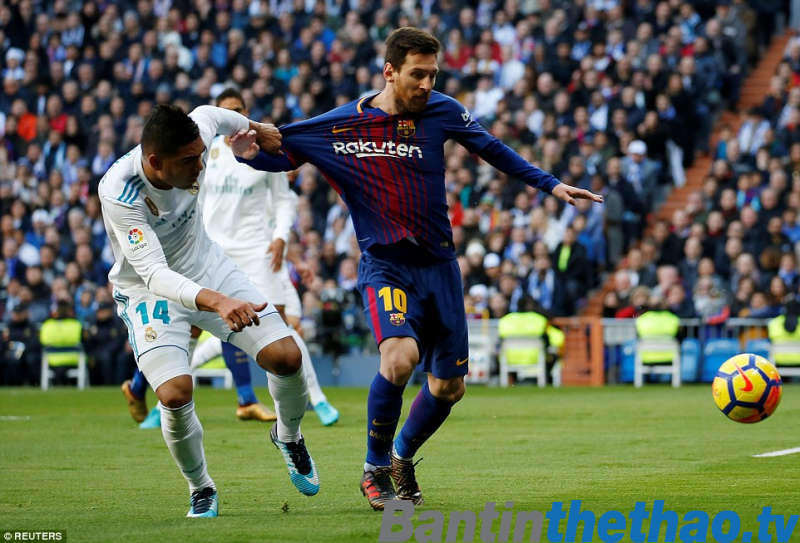 Barca vs Real Madrid tối nay 7/5/2018 La Liga