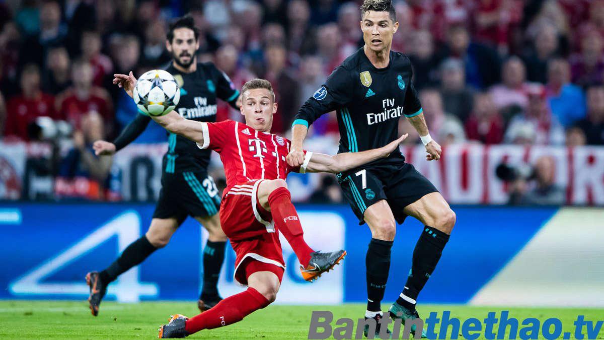 Real vs Bayern đêm nay 2/5/2018 Bán kết lượt về Cúp C1