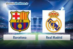 Link xem trực tiếp, link sopcast live stream Barca vs Real Madrid tối nay 7/5/2018 La Liga