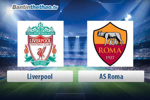 Link xem trực tiếp, link sopcast live stream Liverpool vs Roma đêm nay 3/5/2018 Bán kết lượt về Cúp C1