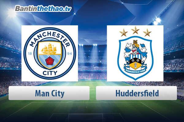 Link xem trực tiếp, link sopcast live stream Man City vs Huddersfield hôm nay 6/5/2018 Ngoại Hạng Anh