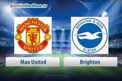Link xem trực tiếp, link sopcast live stream MU vs Brighton đêm nay 5/5/2018 Ngoại Hạng Anh