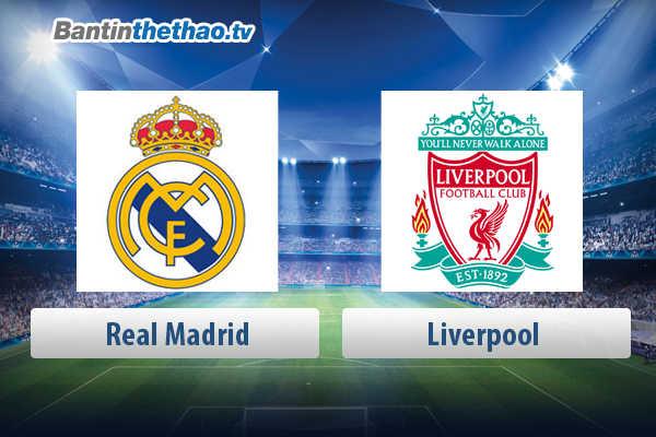 Link xem trực tiếp, link sopcast live stream Real vs Liverpool đêm nay 27/5/2018 Chung kết lượt về Cúp C1
