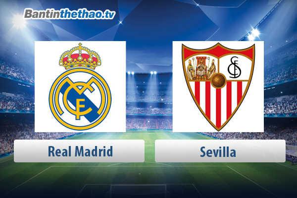 Link xem trực tiếp, link sopcast live stream Real vs Sevilla tối nay 10/5/2018 La Liga