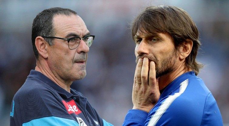 Chelsea muốn Sarri lên thay Conte