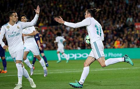 Bale cũng góp một siêu phẩm