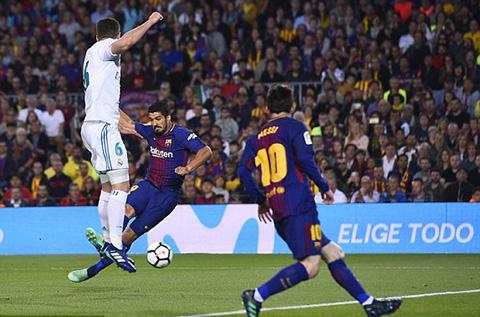 Suarez mở tỷ số