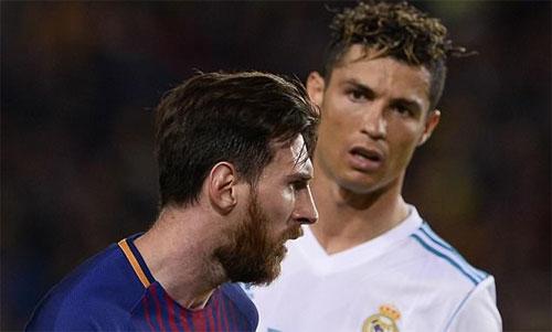 Messi và Ronaldo đều đang có thành tích ''khủng''.