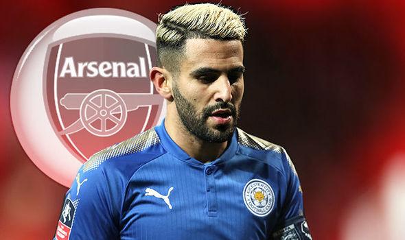 Mahrez muốn gia nhập Arsenal