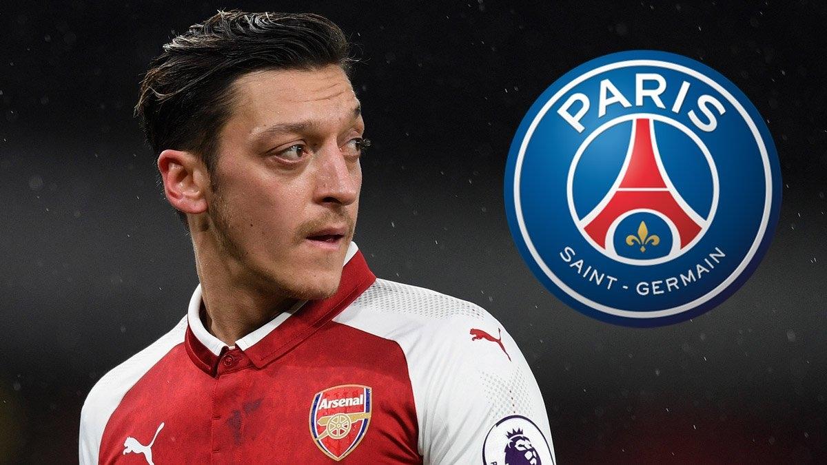 Oziltính chuyện bỏ Arsenal để theo PSG