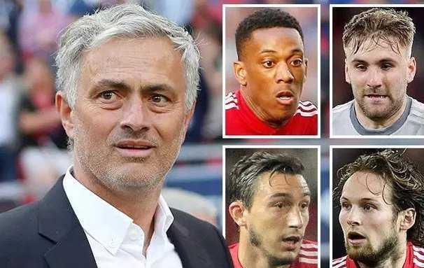 """4 cầu thủ mà Mourinho muốn """"tống khứ"""" trong mùa hè này là những ai?"""