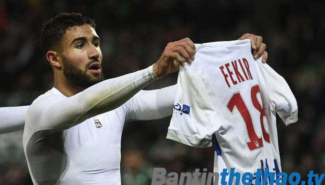 Nabil Fekir đang là mục tiêu tranh giành của cả Chelsea và Liverpool