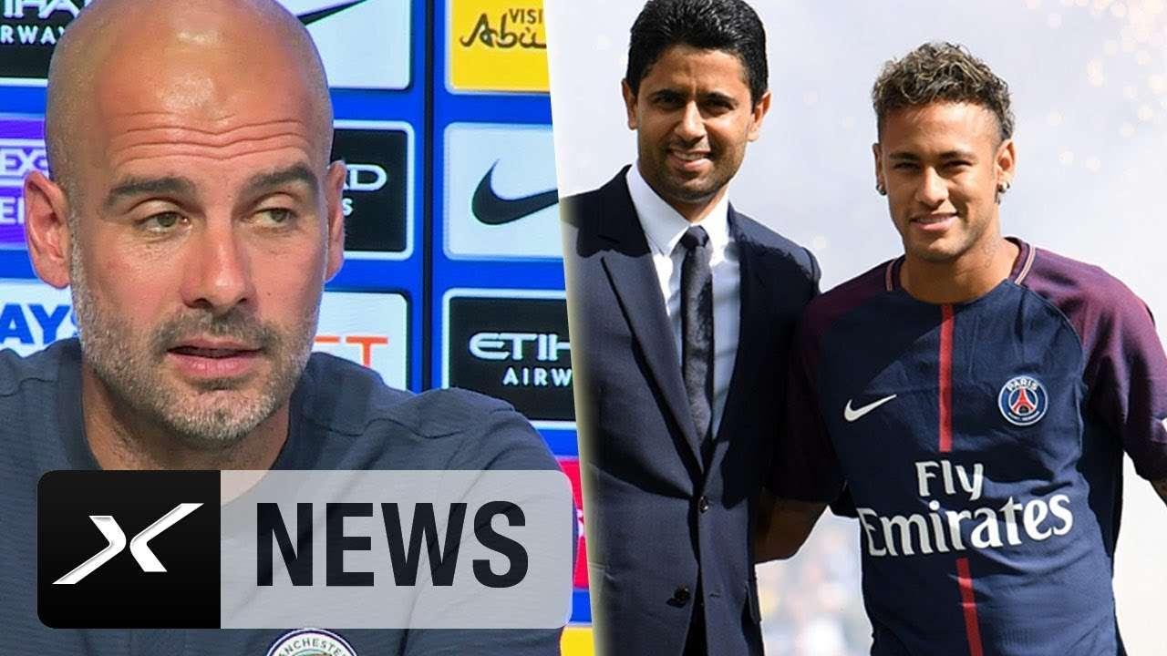 Neymar tuyên bố muốn được làm việc với Pep Guardiola