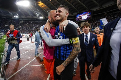 Inter giành vé dự Champions League đầy nghẹt thở