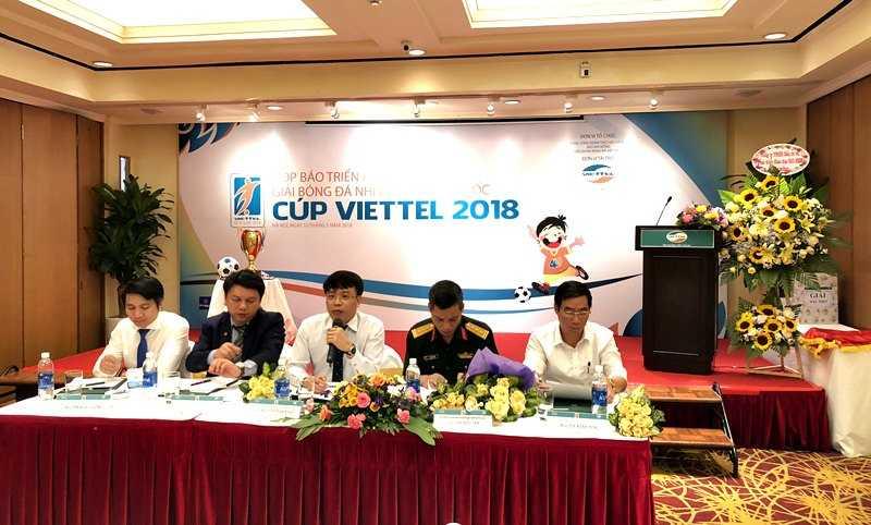 Sáng 10/05 diễn ra buổi họp báo về giải bóng đá Nhi Đồng toàn quốc