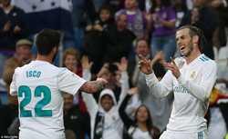 Gareth Bale lập cú đúp, Real đè bẹp Celta Vigo