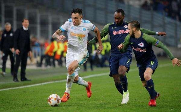 Marseille đang dẫn 2-0